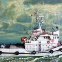 Statek ratowniczy R-27 CYKLON 1/100