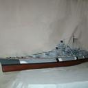 """Schlachtschiff  """"BISMARCK"""" - Hachette 1:200"""